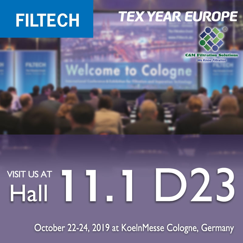 2019-FILTECH-Tex Year Europe booth D23
