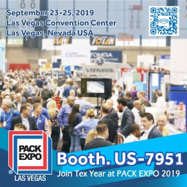 Meet Tex Year at 2019 Pack Expo Las Vegas