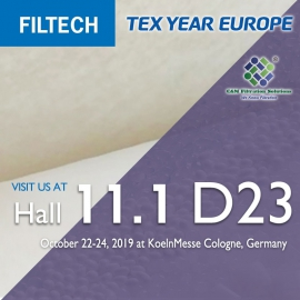 Meet Tex Year at FILTECH 2019 Germany