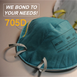 TEX YEAR® Adhesive makes your N95 mask much more comfortable during COVID-19